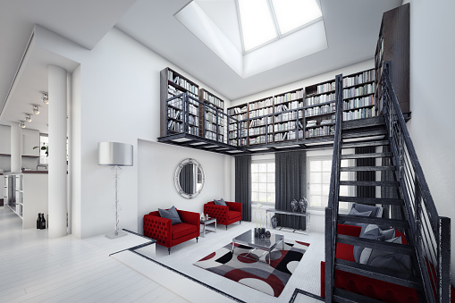 Staircase「Modern Home Interior」:スマホ壁紙(15)