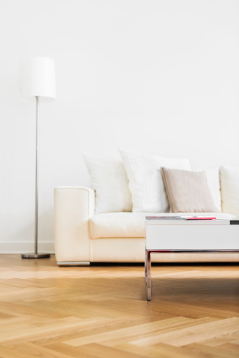 Parquet Floor「Modern Home Interior」:スマホ壁紙(11)