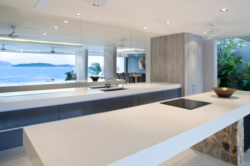 Coastal Feature「Modern Home Kitchen」:スマホ壁紙(9)