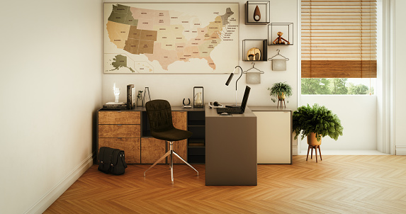Image「Modern Home Office」:スマホ壁紙(2)