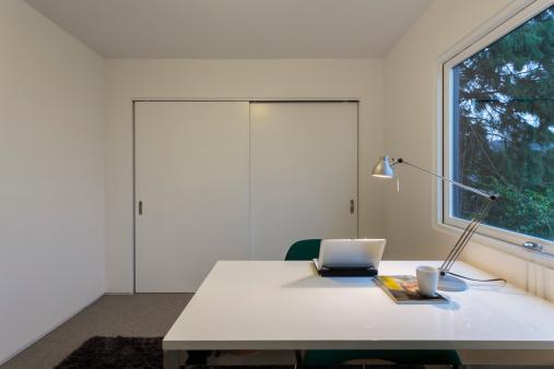 Desk Lamp「Modern home office space」:スマホ壁紙(11)