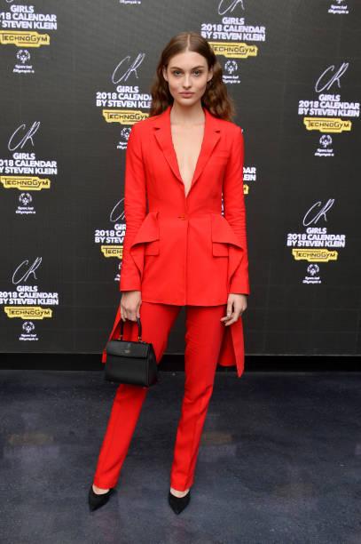 Red Suit「CR Fashion Book Celebrates Launch of CR Girls 2018 Calendar with Technogym」:写真・画像(14)[壁紙.com]