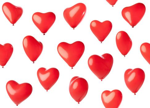 heart「Seamless heart shaped balloons」:スマホ壁紙(15)