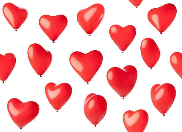 Seamless heart shaped balloons:スマホ壁紙(壁紙.com)
