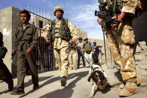 Taliban「British Troops Secure Helmand Province In Southern Afghanistan」:写真・画像(17)[壁紙.com]