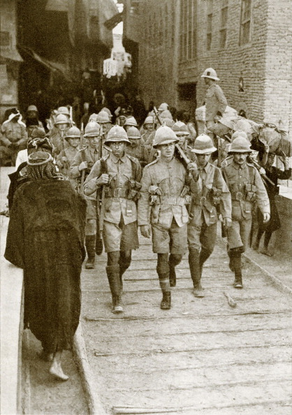 Baghdad「British troops in Mesopotamia during WW1」:写真・画像(15)[壁紙.com]