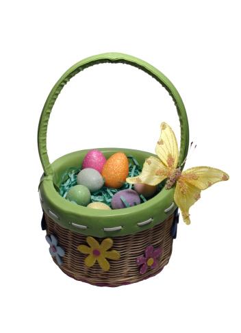 Easter Basket「Spring Easter Basket with Butterfly」:スマホ壁紙(4)