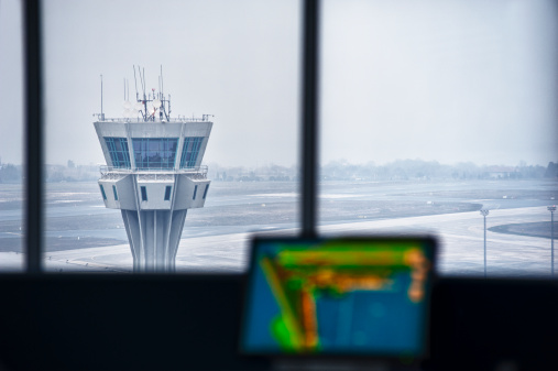 Lookout Tower「Airport Tower, Interior View」:スマホ壁紙(18)