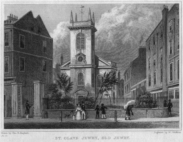 1820-1829「St Olave's Old Jewry」:写真・画像(8)[壁紙.com]
