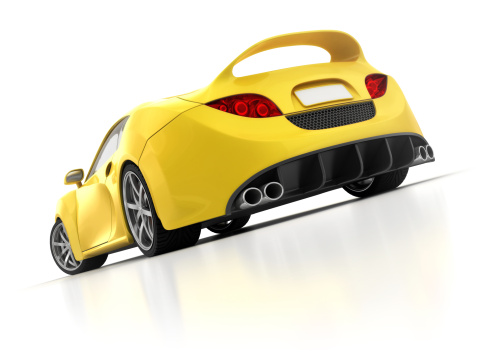 Sports Car「yellow supercar」:スマホ壁紙(9)