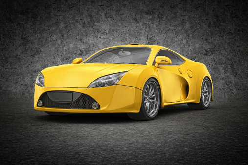 Sports Car「yellow supercar」:スマホ壁紙(1)