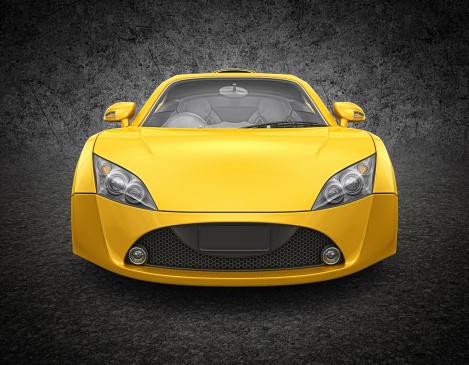 Motor Vehicle「yellow supercar」:スマホ壁紙(14)
