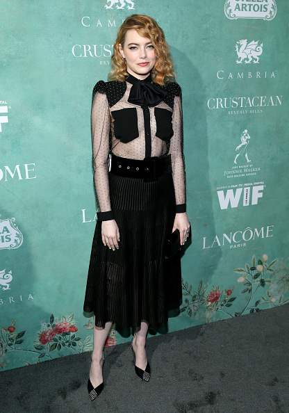 Emma Stone「11th Annual Celebration Of The 2018 Female Oscar Nominees Presented By Women In Film - Arrivals」:写真・画像(1)[壁紙.com]