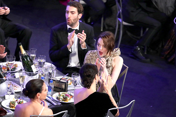 Emma Stone「25th Annual Screen Actors Guild Awards - Inside」:写真・画像(0)[壁紙.com]