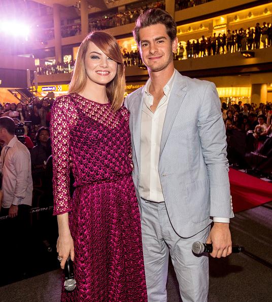 エマ・ストーン「'The Amazing Spider-Man 2' Singapore Fan Event」:写真・画像(1)[壁紙.com]