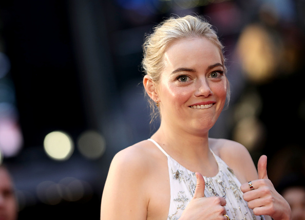 "Emma Stone「""Battle Of The Sexes"" European Premiere - 61st BFI London Film Festival」:写真・画像(19)[壁紙.com]"