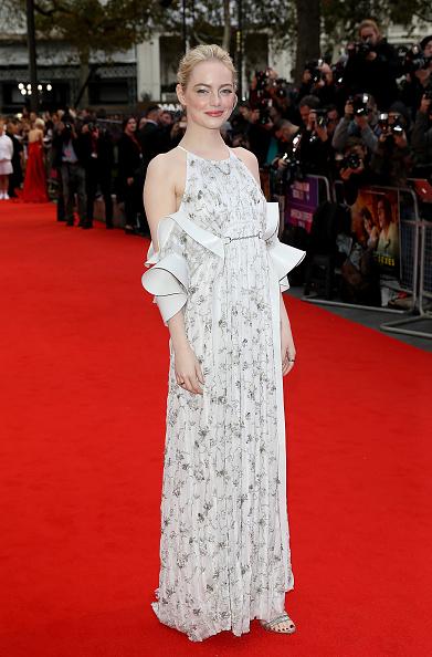 "Emma Stone「""Battle Of The Sexes"" European Premiere - 61st BFI London Film Festival」:写真・画像(7)[壁紙.com]"