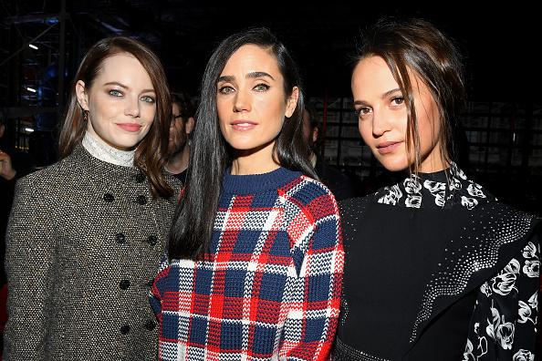 Emma Stone「Louis Vuitton : Front Row - Paris Fashion Week Womenswear Fall/Winter 2019/2020」:写真・画像(0)[壁紙.com]