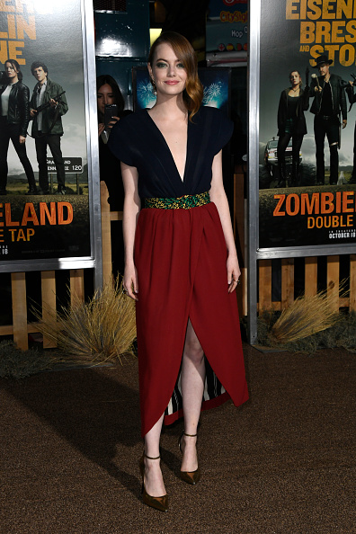 """Emma Stone「Premiere Of Sony Pictures' """"Zombieland Double Tap"""" - Arrivals」:写真・画像(3)[壁紙.com]"""