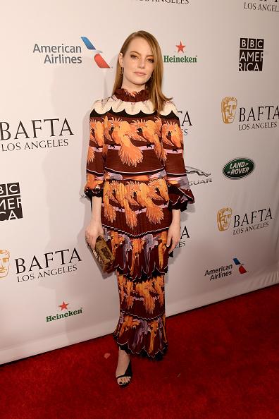 Emma Stone「The BAFTA Los Angeles Tea Party - Arrivals」:写真・画像(9)[壁紙.com]