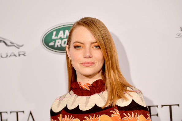 Emma Stone「The BAFTA Los Angeles Tea Party - Arrivals」:写真・画像(9)[壁紙.com]