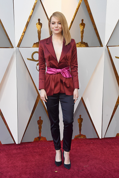 Emma Stone「90th Annual Academy Awards - Arrivals」:写真・画像(7)[壁紙.com]