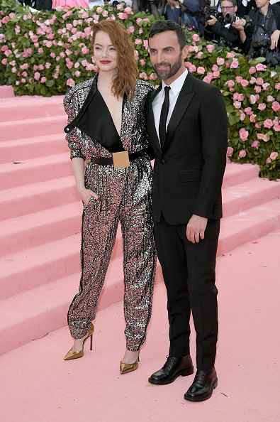 Emma Stone「The 2019 Met Gala Celebrating Camp: Notes on Fashion - Arrivals」:写真・画像(2)[壁紙.com]