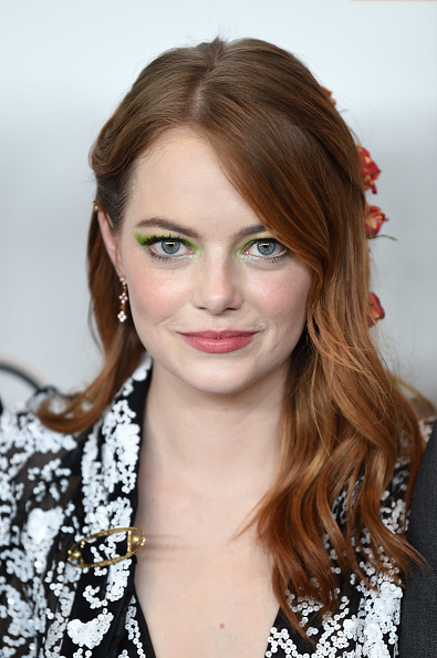 "Emma Stone「56th New York Film Festival - Opening Night Premiere Of ""The Favourite"" - Arrivals」:写真・画像(5)[壁紙.com]"