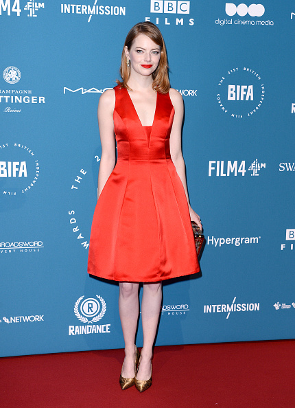 Emma Stone「The 21st British Independent Film Awards - Red Carpet Arrivals」:写真・画像(4)[壁紙.com]