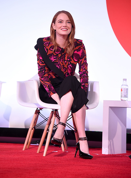 Emma Stone「Great Minds Think Unalike: A Conversation With Emma Stone And Dr. Harold S. Koplewicz」:写真・画像(1)[壁紙.com]