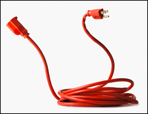 Power Cable「Rolled up red power cord」:スマホ壁紙(13)