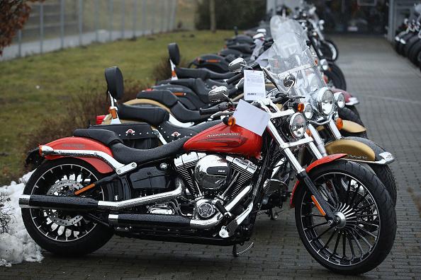 Harley-Davidson「Tariffs Tiff Between Trump And EU Intensifies」:写真・画像(3)[壁紙.com]