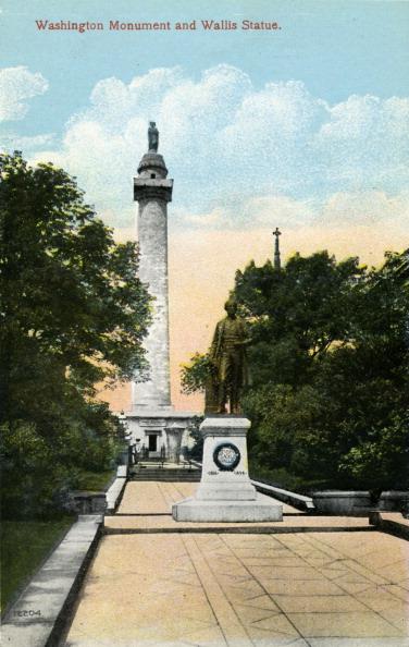 City Life「Baltimore: Washington Monument and Wallis Statue」:写真・画像(19)[壁紙.com]