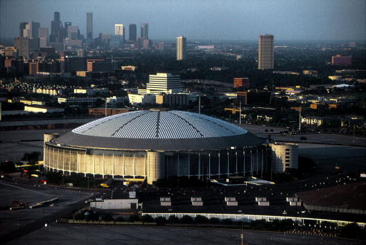 Houston Astrodome「HOUSTON's SKYLINE AND TRAFFIC」:写真・画像(3)[壁紙.com]