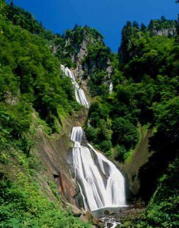Kamikawa District - Ishikari「Hagoromo Waterfall, Higashikawa, Hokkaido, Japan」:スマホ壁紙(4)