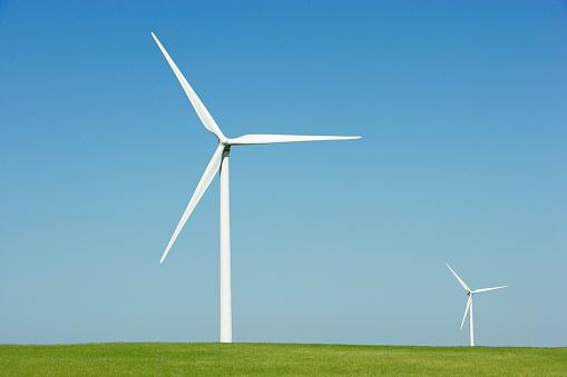 Wind Turbine「Wind farm」:スマホ壁紙(16)