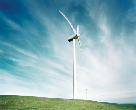 Wind Turbine「Wind farm」:スマホ壁紙(9)
