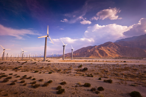 Foothills「Wind Farm, Palm Springs, California」:スマホ壁紙(16)