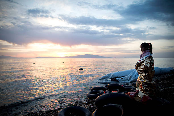 Greek Island Of Lesbos On The Frontline Of the Migrant Crisis:ニュース(壁紙.com)