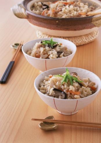 シイタケ「Rice with vegetables and meat」:スマホ壁紙(4)