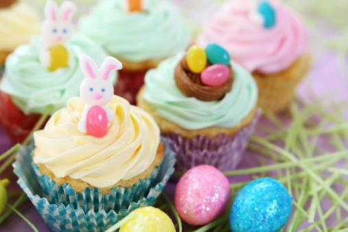 Easter Bunny「easter cupcakes」:スマホ壁紙(14)