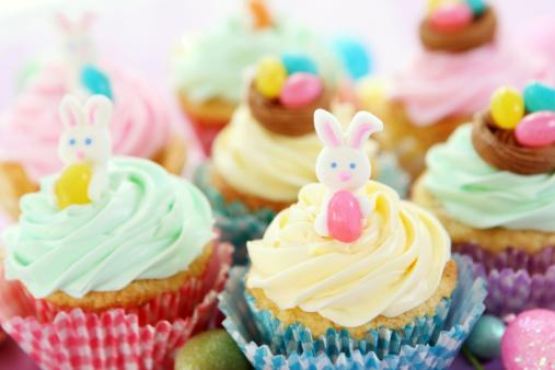 Easter Bunny「easter cupcakes」:スマホ壁紙(16)