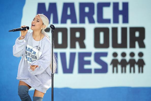 アリアナ・グランデ「Hundreds Of Thousands Attend March For Our Lives In Washington DC」:写真・画像(15)[壁紙.com]