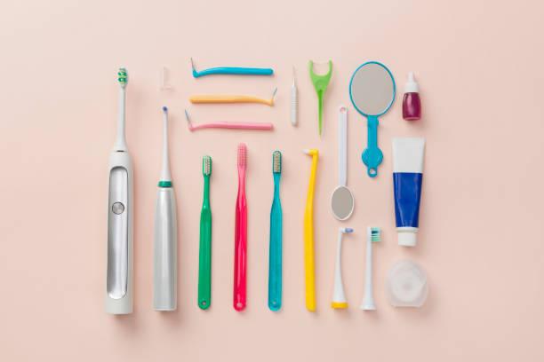 Dental item knolling style:スマホ壁紙(壁紙.com)