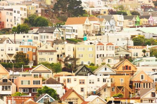 Housing Project「San Francisco Daly City Neighborhood Suburb」:スマホ壁紙(6)