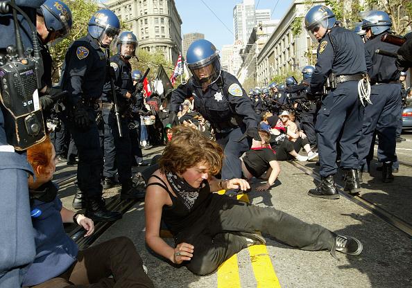 Justin Sullivan「San Francisco Hosts Anti-War Protest On Iraq War Anniversary」:写真・画像(10)[壁紙.com]