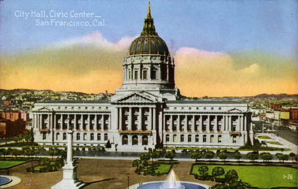 City Life「San Francisco: City Hall, Civic Center」:写真・画像(15)[壁紙.com]