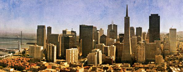 Urban Skyline「San Francisco, California, USA (painterly)」:写真・画像(5)[壁紙.com]