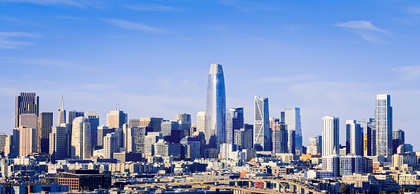 Finance and Economy「San Francisco Skyline in the afternoon」:スマホ壁紙(6)