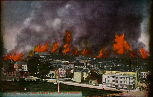 San Francisco:The Great Fire:ニュース(壁紙.com)